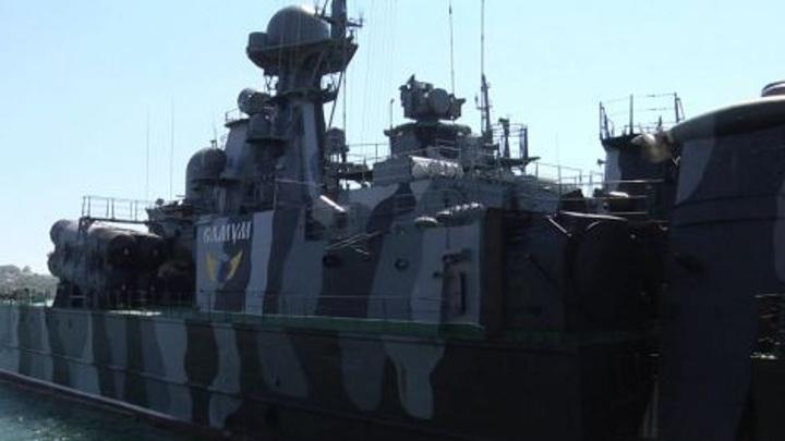 В Черном море прошли учения по защите объектов экономической деятельности