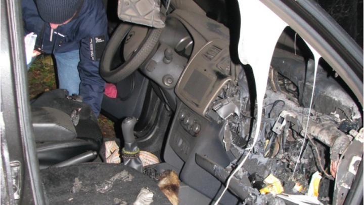 Костромич получил 3 года колонии за поджог машины сотрудника ДПС из мести