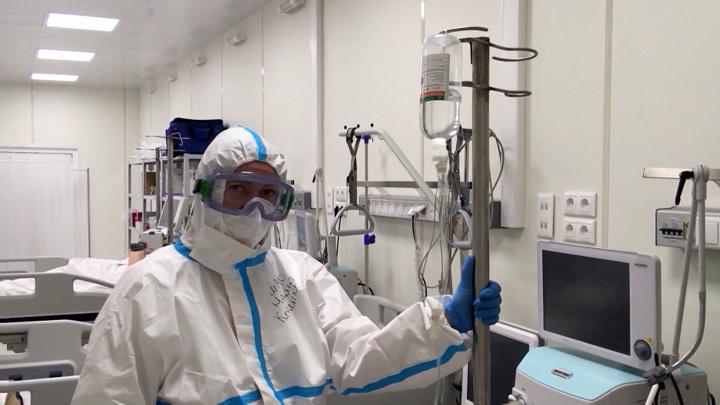 Суточный прирост новых заболевших коронавирусом в России составил 22 041 случай