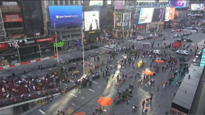 В центре Нью-Йорка эвакуировали посетителей магазина Disney