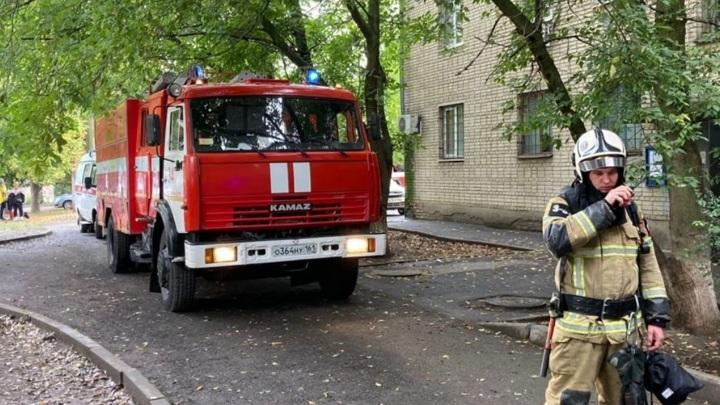 Газ взорвался в ростовской пятиэтажке