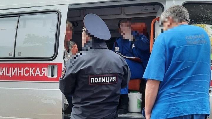 """Задержан размахивавший топором в """"Магните"""" москвич в женской одежде"""