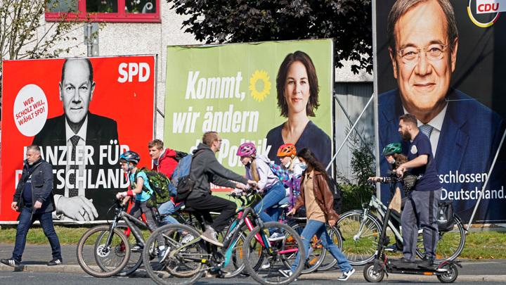 В Германии открылись участки для голосования в бундестаг