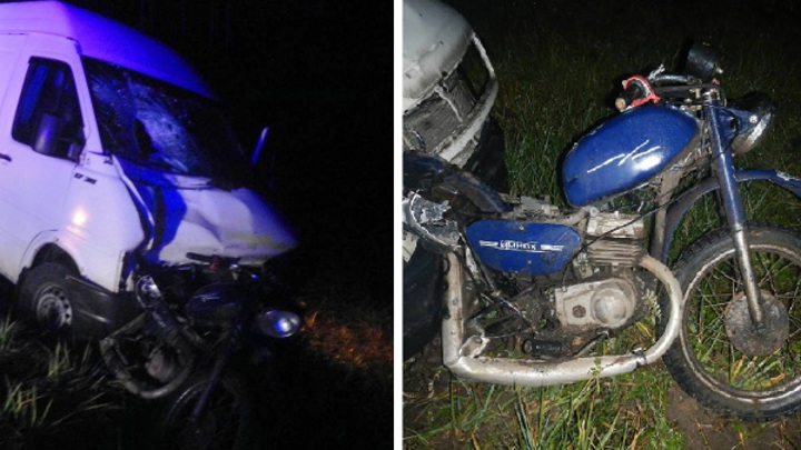 В Костромской области подросток погиб за рулем мотоцикла