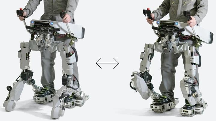 У устройства два режима работы, облегчающих передвижение человека.