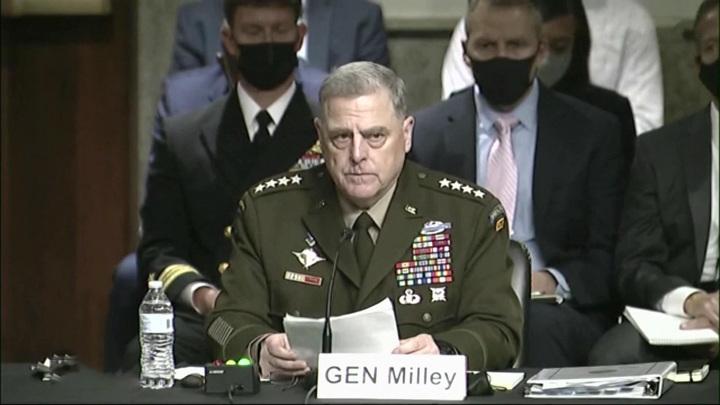 Миссия в Афганистане провалена. Генерал Милли признал очевидное в Конгрессе