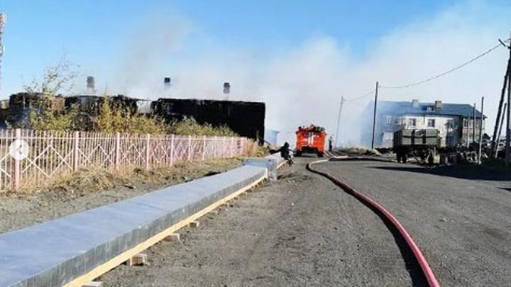 20 человек эвакуированы из-за пожара на Камчатке