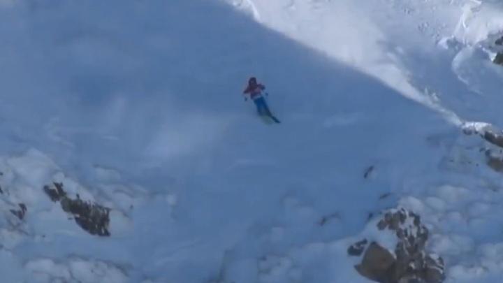 Видео собственного падения со скалы опубликовал смоленский спортсмен