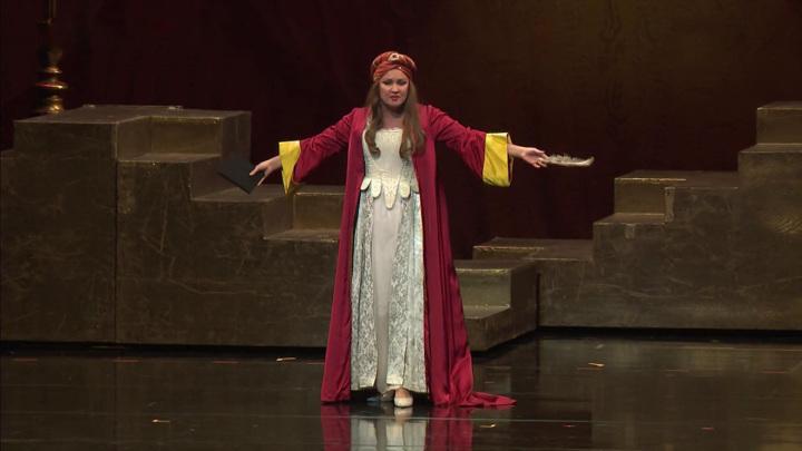 На сцене Мариинского театра прошел юбилейный вечер Анны Нетребко