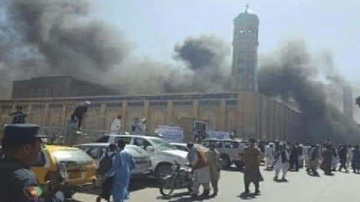 Более 20 человек погибли в результате взрыва у мечети в Кандагаре
