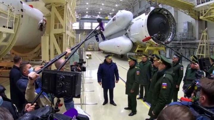 Шойгу доложили о планируемых запусках новейшей ракеты с космодрома Плесецк