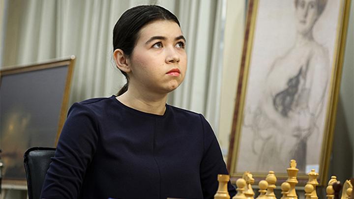 Шахматы. Горячкина борется за приз мужского чемпионата России