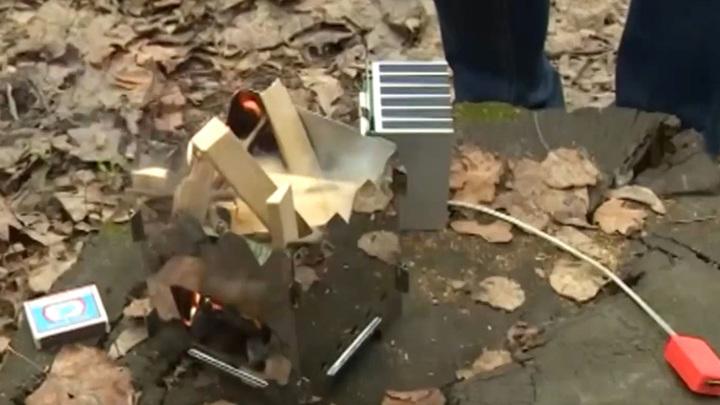 Зарядка от мангала: в России учатся получать электричество из огня
