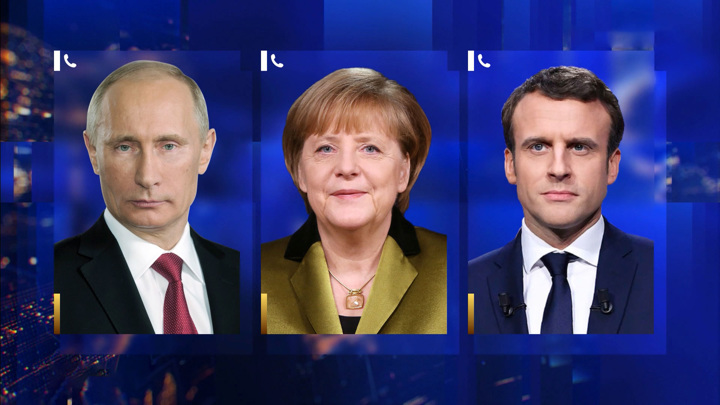 """Путин указал Меркель и Макрону на """"нормандскую"""" неадекватность"""