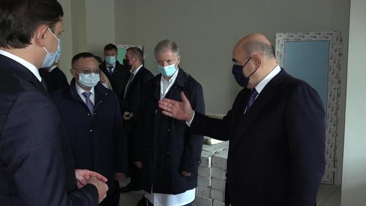 Мишустин поручил достроить орловскую больницу в кратчайшие сроки