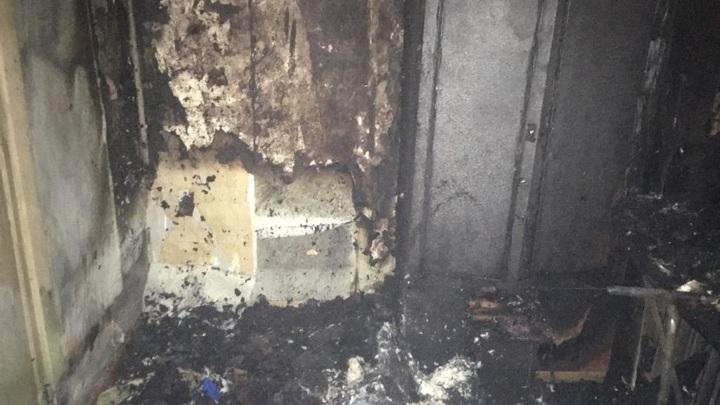 Пожар из-за сигареты унес жизни двух человек в Бугульме