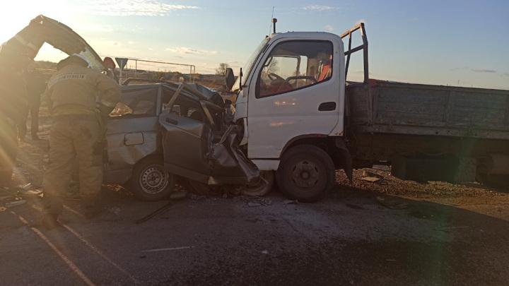 Три человека погибли в ДТП под Сызранью