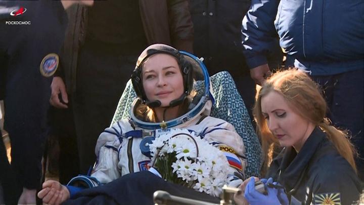 Пересильд рассказала о проблемах со здоровьем из-за полета в космос