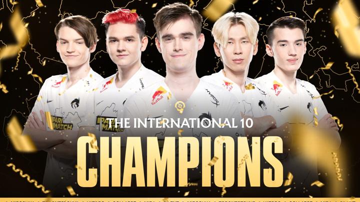 Россияне выиграли мировое первенство по Dota 2 впервые в истории