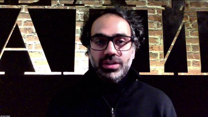 Беседа ливанским хореографом Омаром Ражех