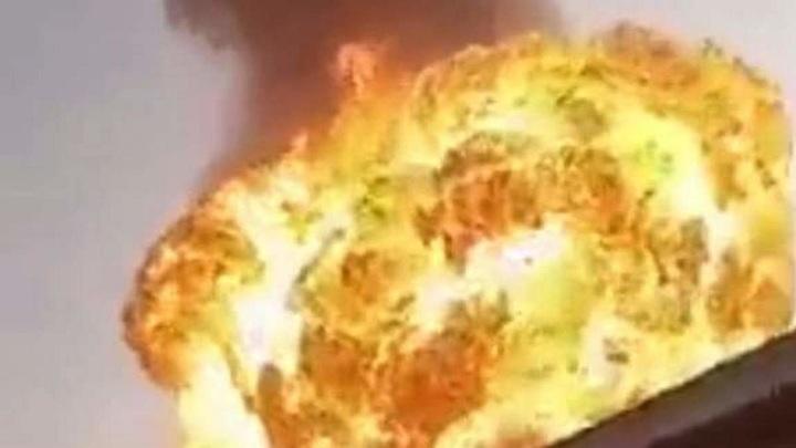 Мощный взрыв прогремел на заводе по производству газировки