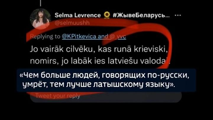 В Латвии возбудили дело против помощницы депутата за твит о русских