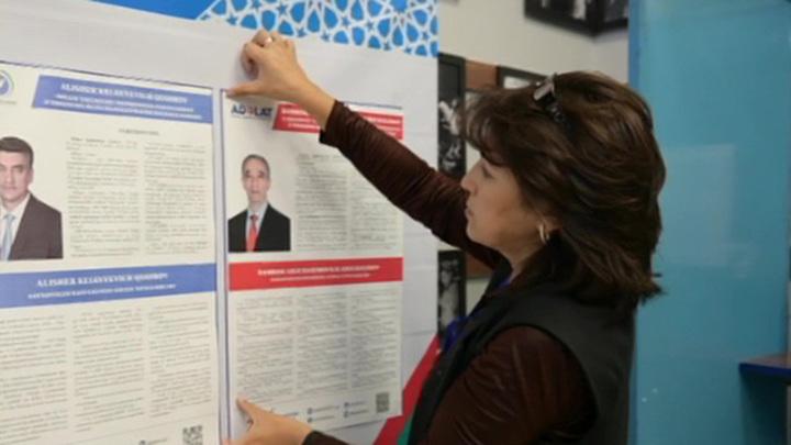 В Узбекистане проходят выборы президента