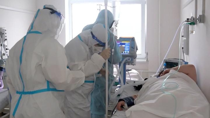В Кемеровской области коечный фонд для больных коронавирусом занят на 80%