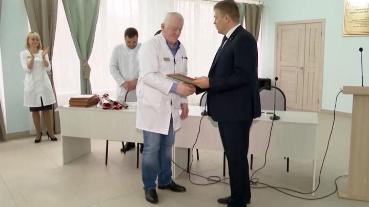 Ульяновских врачей наградили за спасение ребенка после страшного ДТП