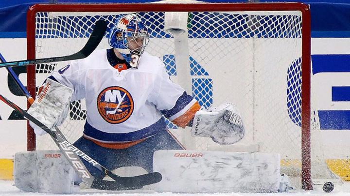 Илья Сорокин назван звездой игрового дня в НХЛ