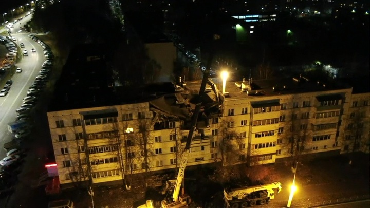 Взрыв газа в Набережных Челнах полностью уничтожил 5 квартир