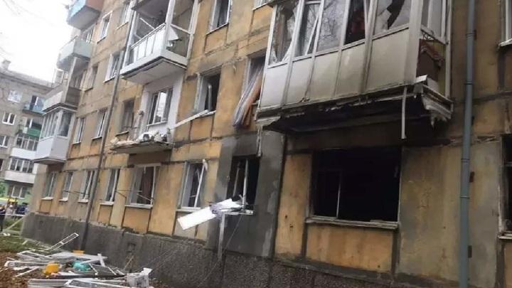 Межкомнатные стены повреждены в квартире в доме в Балтийске после взрыва газа