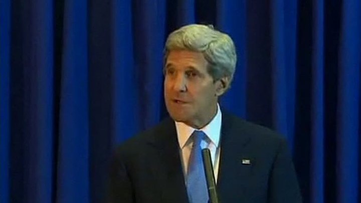 Госсекретарь США Джон Керри поздравил россиян с Днем России