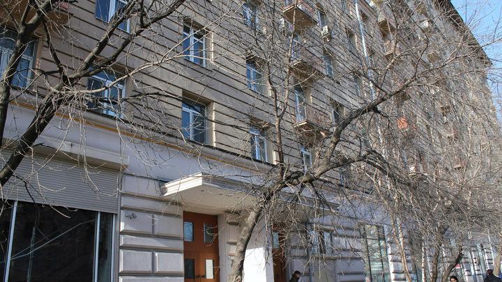 Москва, Каретный ряд,5. Последний адрес Утёсова.