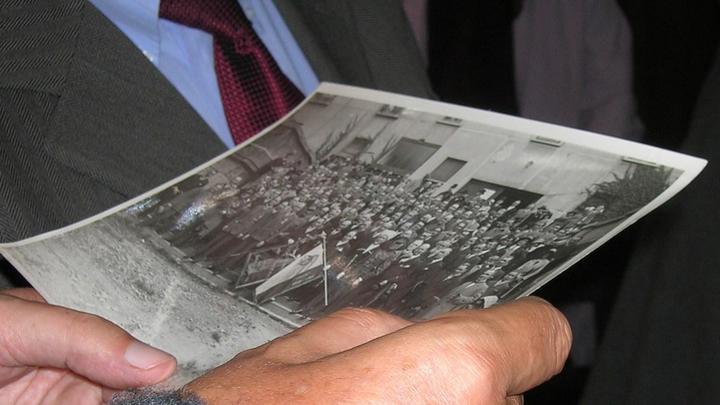 Спустя 90 лет, ищем родные лица. Брюссель, 2011 год. Фото из архивов Ивонн Франсуа, Жаклин Бурьен, Виржини Вандерстикль и Леонида Варебруса