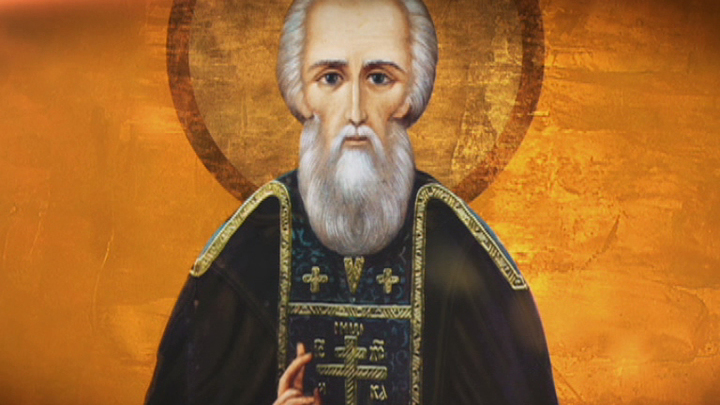Завершаются работы по росписи храма в честь преподобного Сергия Радонежского