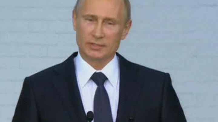 Путин прибыл в Троице-Сергиеву лавру