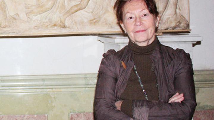 Хранитель отдела истории античного мира Эрмитажа Людмила Давыдова.