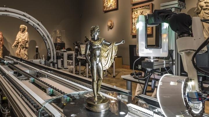В Германии поставили на поток изготовление копий мировых шедевров в 3D формате