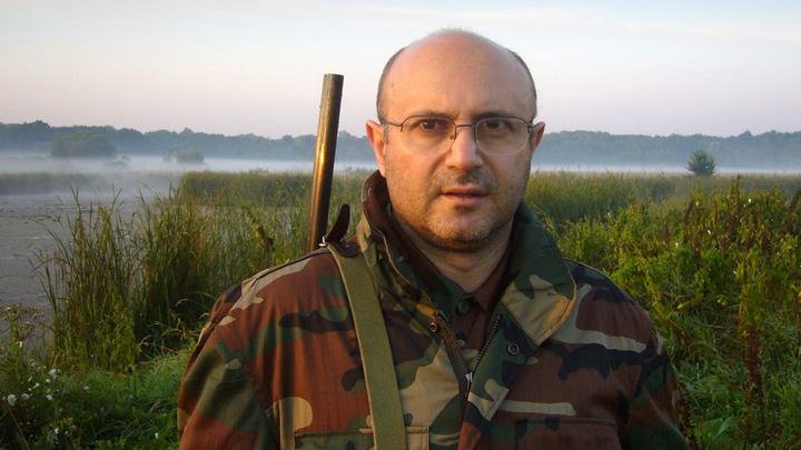 Охотник Николай Мамулашвили