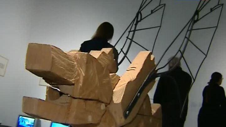 """""""Возможность полета"""" в Центре современного искусства"""