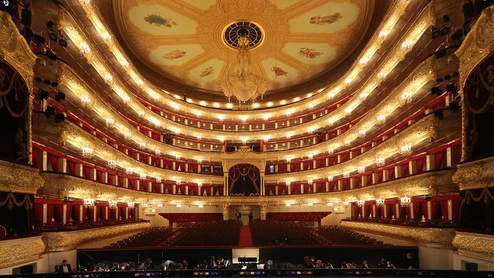 Большой театр. Зал
