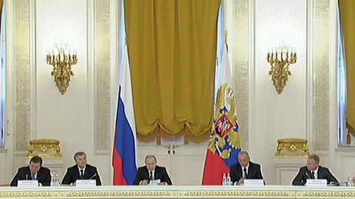 Владимир Путин провел в Кремле совместное заседание двух Советов при президенте России