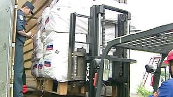 Почти 1,5 тыс. тонн гуманитарного груза доставлены в Киргизию