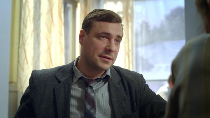 """Евгений Цыганов. Кадр из сериала """"Оттепель"""""""